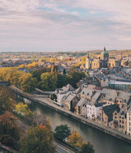 Namur, Capitale de la Wallonie