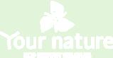Your nature logo white