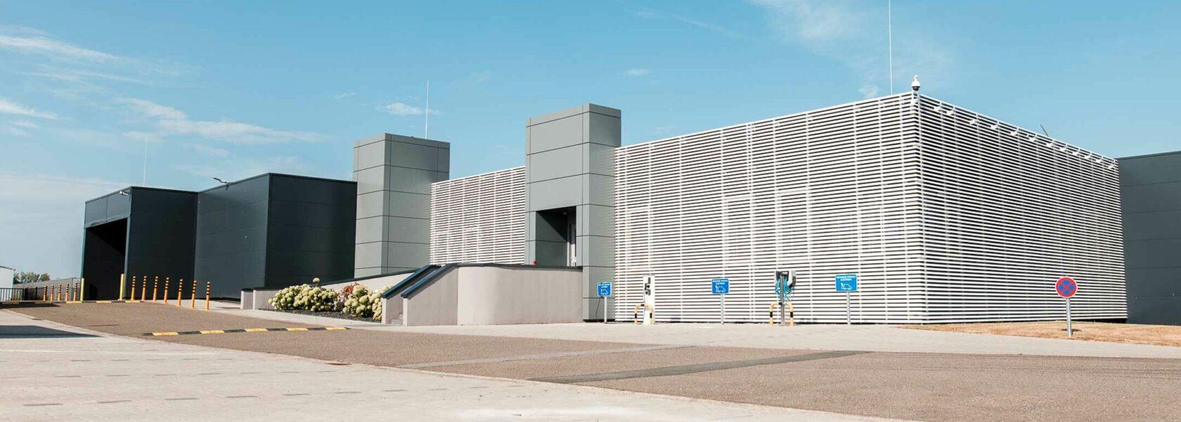 Wallonie data center wdc facade