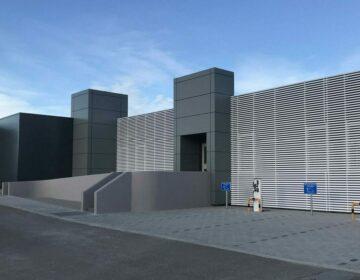 Façade du data center Wallonia Data Center (WDC)