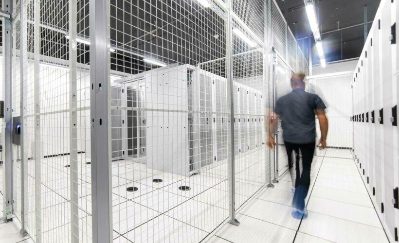 Intérieur du Wallonie Data Center (WDC)